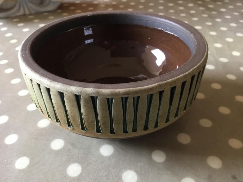 Scandinavian stoneware bowl,- Tomas Anagrius Sweden E25c6910