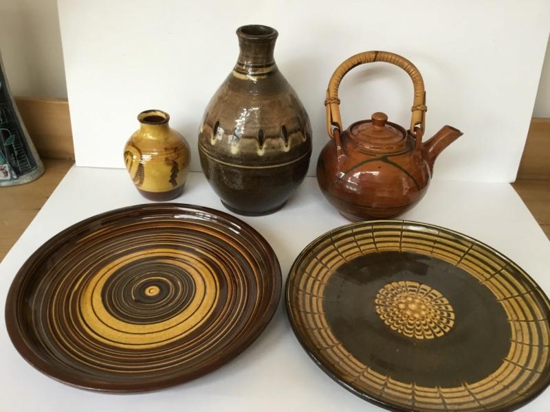 Early earthenware studio teapot E345bb10
