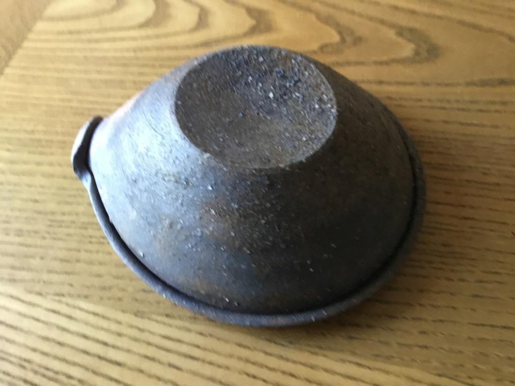 Stoneware studio pouring bowl, Japanese? no Mark. E5ec6810