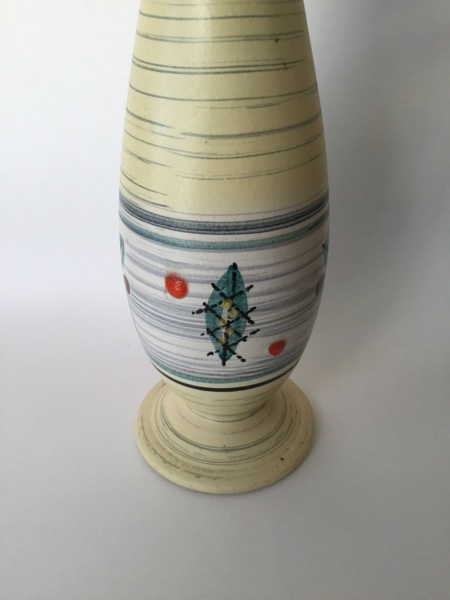 1950s  atomic vase ?  Style name? not Denby E64eed10