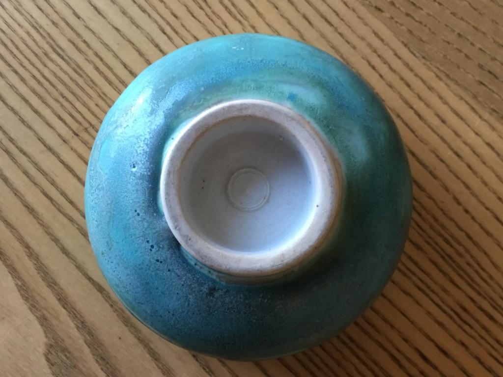 Mary Rich ? Bowl, green  Ed2d4410