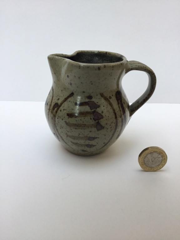 Stoneware studio milk jug, no mark Ee152f10