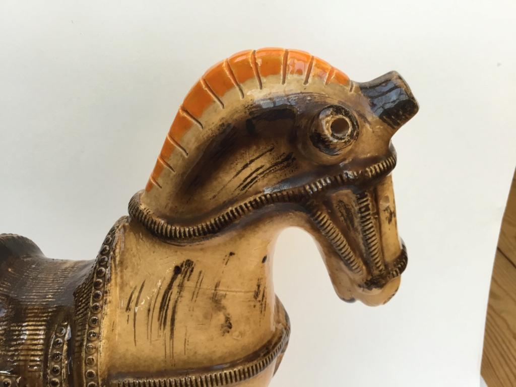 Bitossi brown horse F0538810