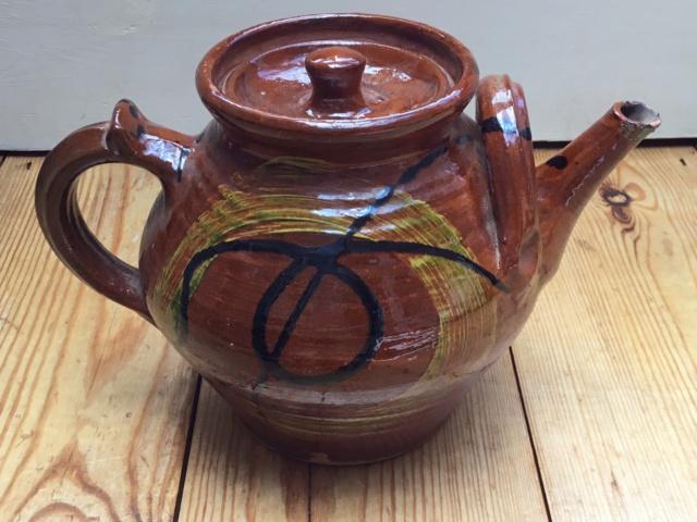 Studio teapot , Clive Bowen, verified  F06cb810