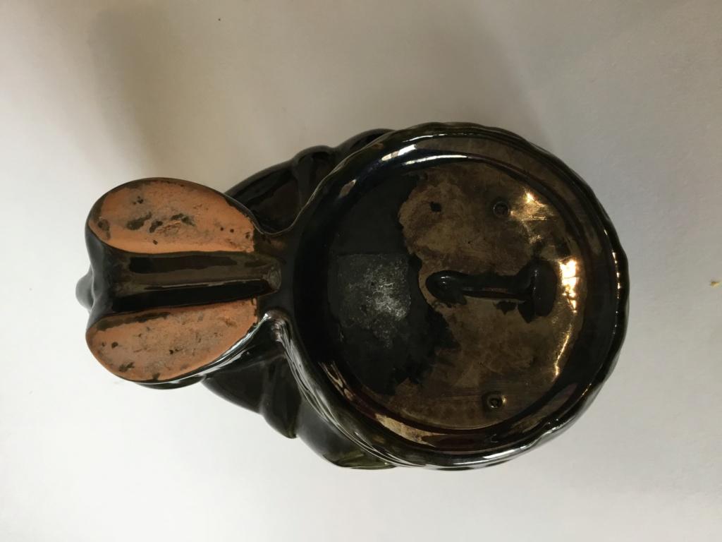 Green Mickey Mouse ashtray, marked 1 F4551f10