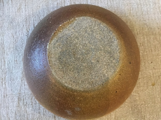 Stoneware studio bowl, DC Derek Clarkson?  F6995d10