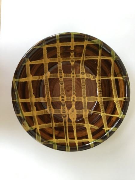 Large slipware bowl, Clive Bowen? Coxwold? Wobage?  Fbe7e110