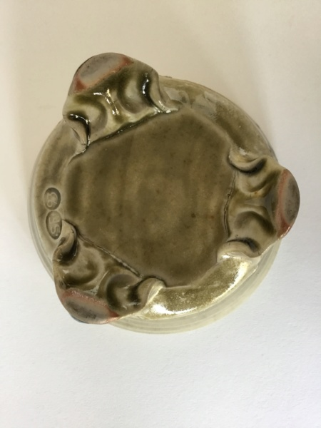 SF 93 mark 3-footed bowl, shell impressions - Simon Fletcher  Ff75ab10