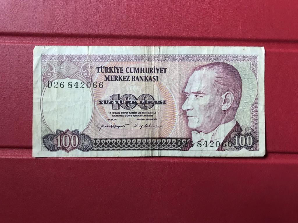 Billete 100 Liras de Turquia 1984 Img_0713