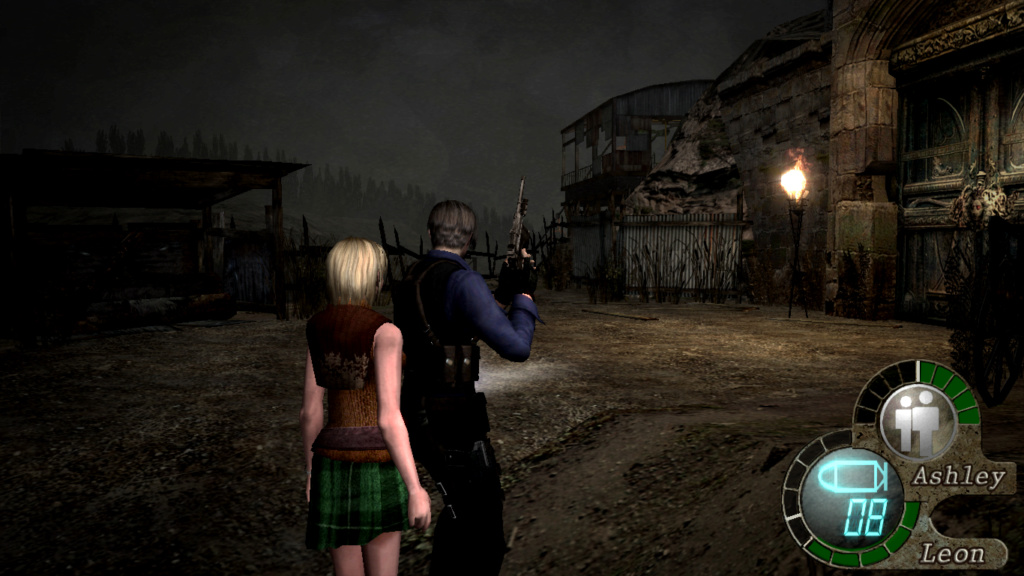Unos mods del RE4 que me guntán Reside16