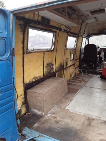 Restaurierung MB 206 D - Weinsberg 20190316