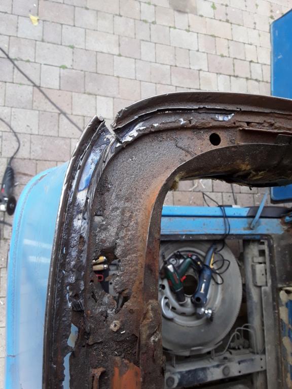 Restaurierung MB 206 D - Weinsberg 20190322