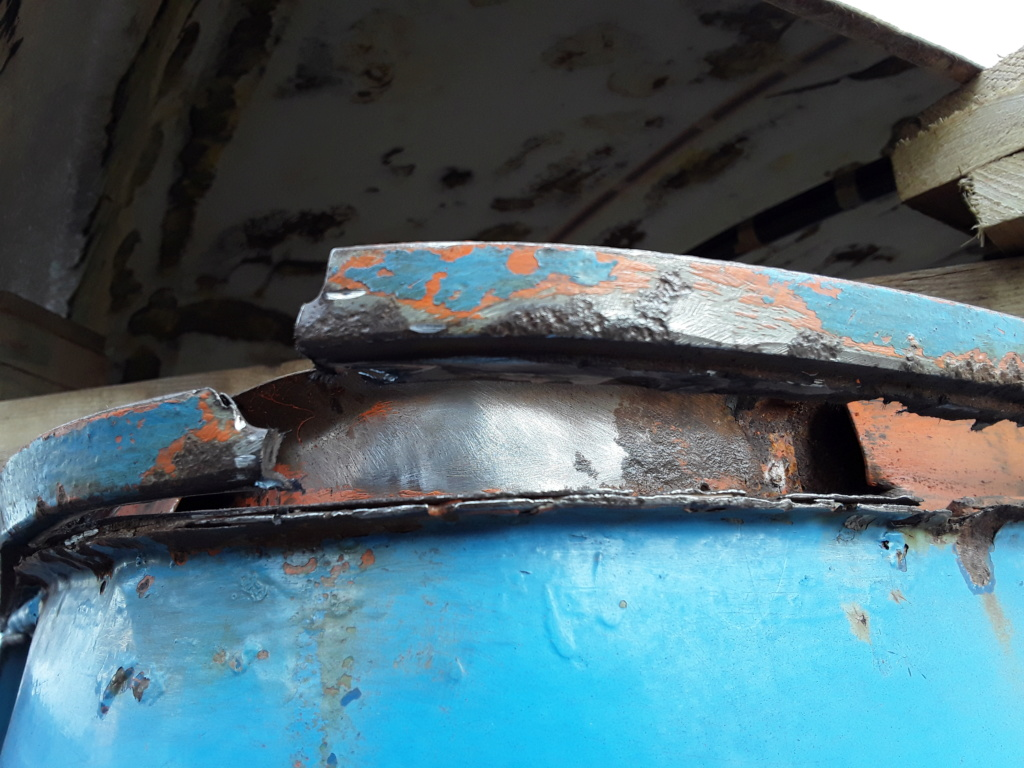 Restaurierung MB 206 D - Weinsberg 20190323
