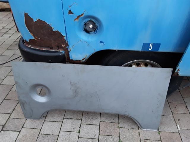 Restaurierung MB 206 D - Weinsberg 20190325