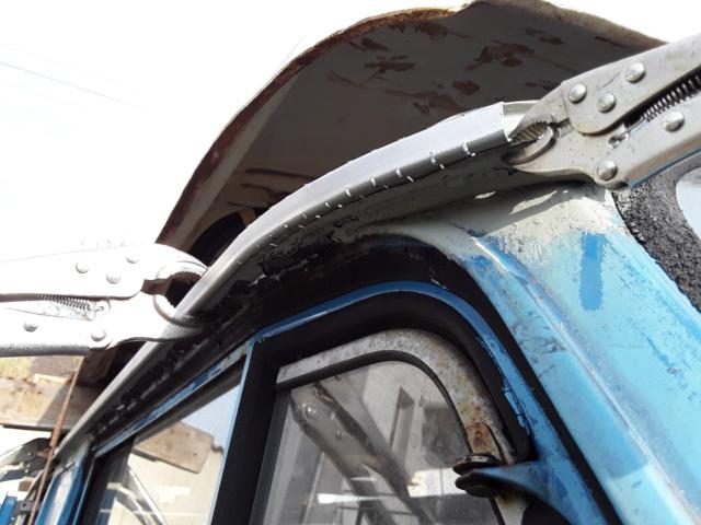 Restaurierung MB 206 D - Weinsberg 20190416