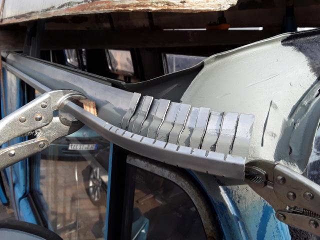 Restaurierung MB 206 D - Weinsberg 20190418