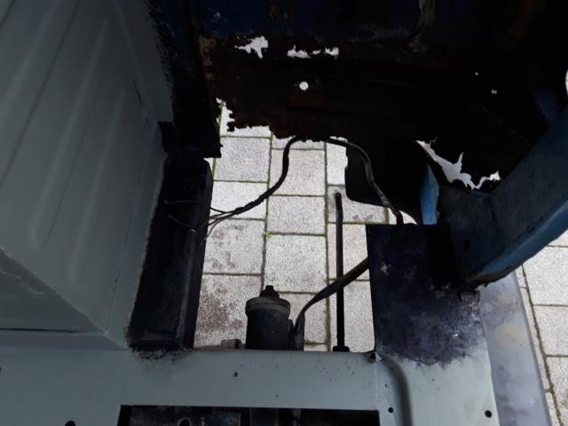 Restaurierung MB 206 D - Weinsberg 20190511