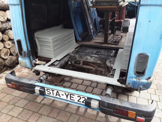 Restaurierung MB 206 D - Weinsberg 20190512