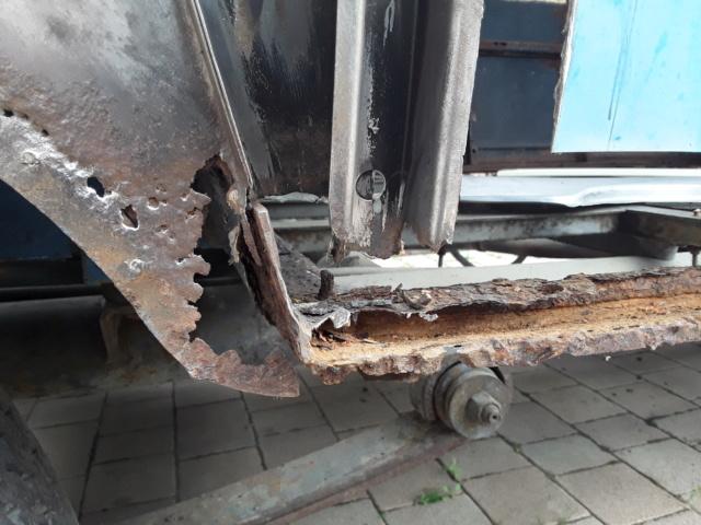 Restaurierung MB 206 D - Weinsberg 20190513