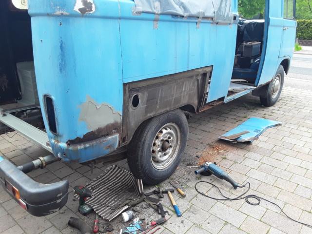 Restaurierung MB 206 D - Weinsberg 20190514