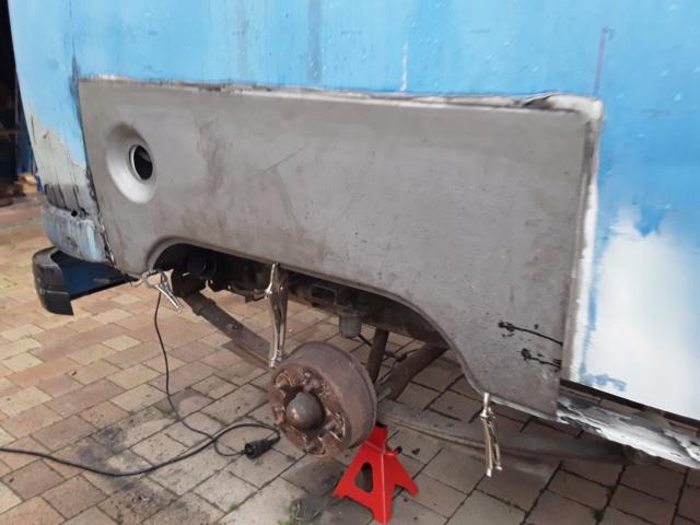 Restaurierung MB 206 D - Weinsberg 20190515