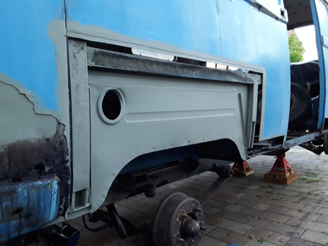 Restaurierung MB 206 D - Weinsberg 20190516