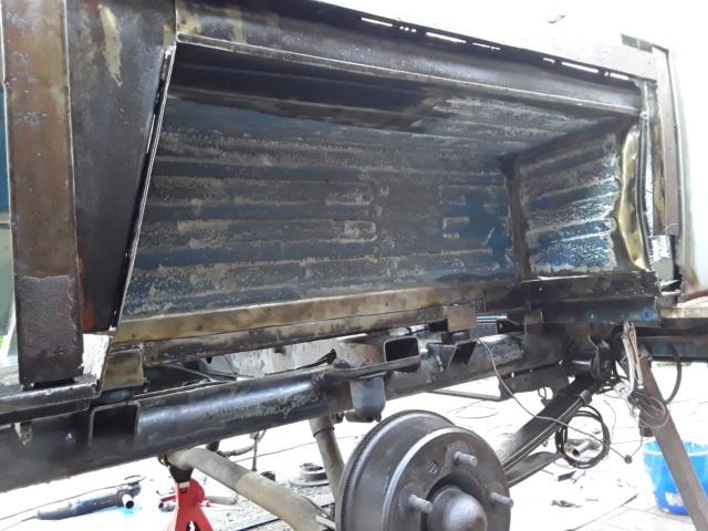 Restaurierung MB 206 D - Weinsberg 20190517