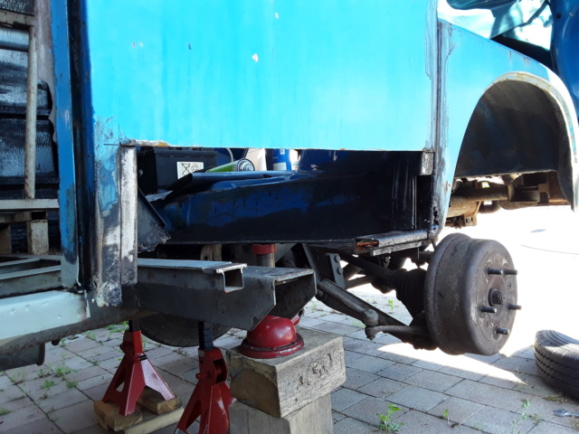 Restaurierung MB 206 D - Weinsberg 20190610