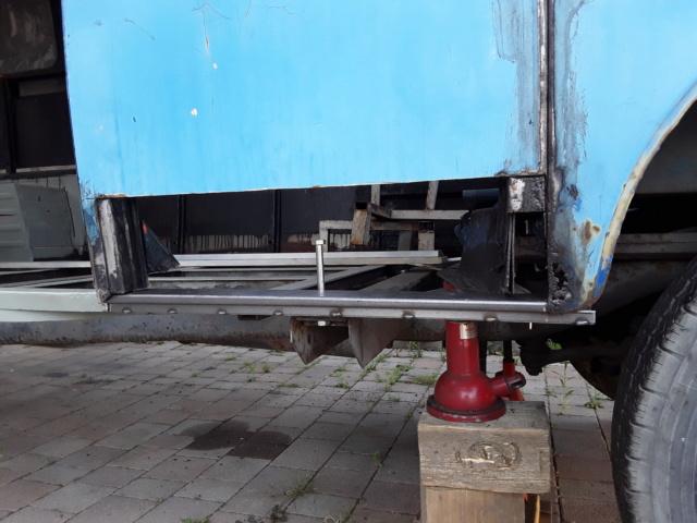 Restaurierung MB 206 D - Weinsberg 20190611