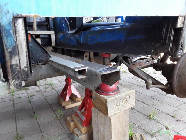 Restaurierung MB 206 D - Weinsberg 20190612