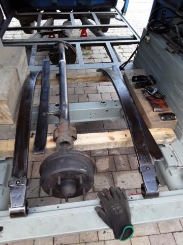 Restaurierung MB 206 D - Weinsberg 20190614