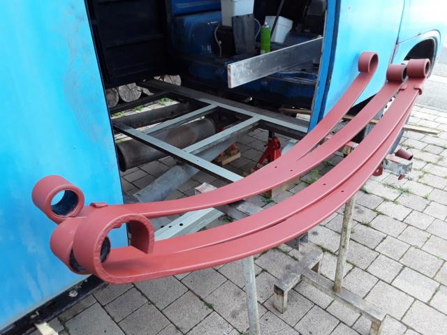 Restaurierung MB 206 D - Weinsberg 20190616
