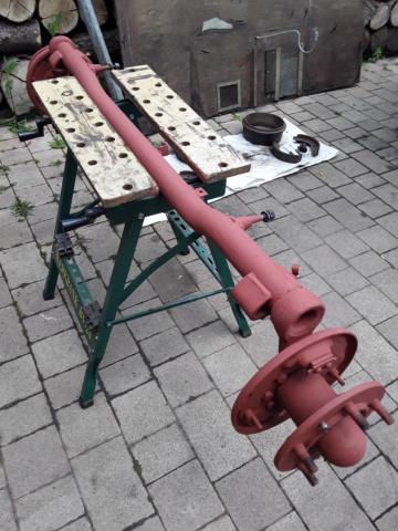 Restaurierung MB 206 D - Weinsberg 20190617