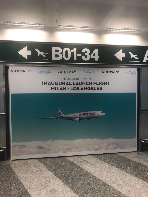 Evento: inaugurazione Airitaly Milano-Los Angeles 5df32a10
