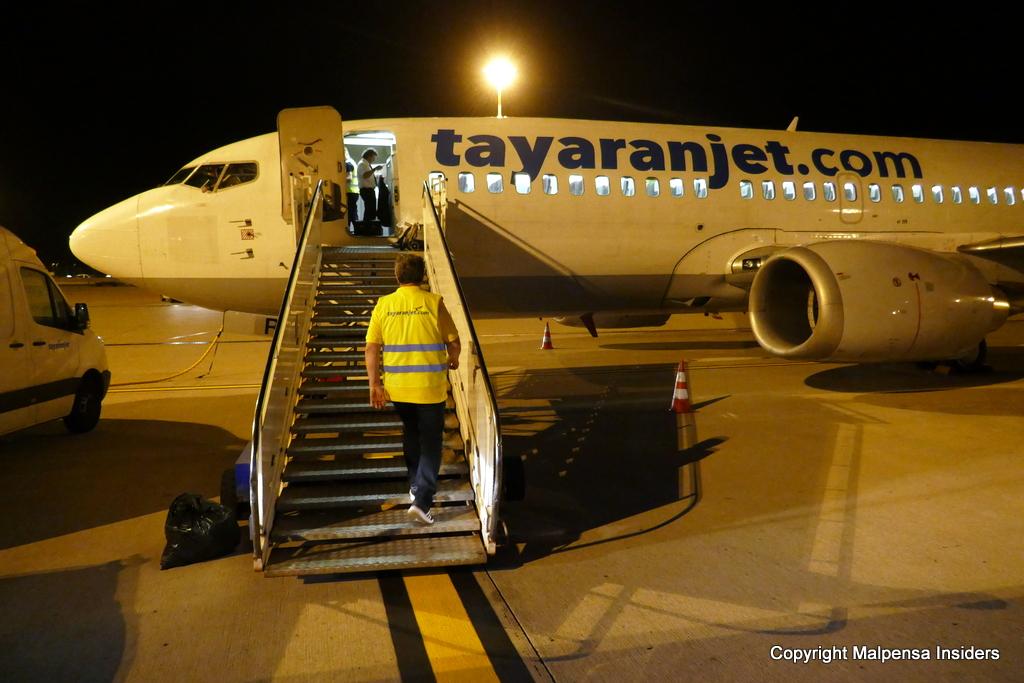 Dietro le quinte - 737 Tayaranjet a Malpensa 737_ma10