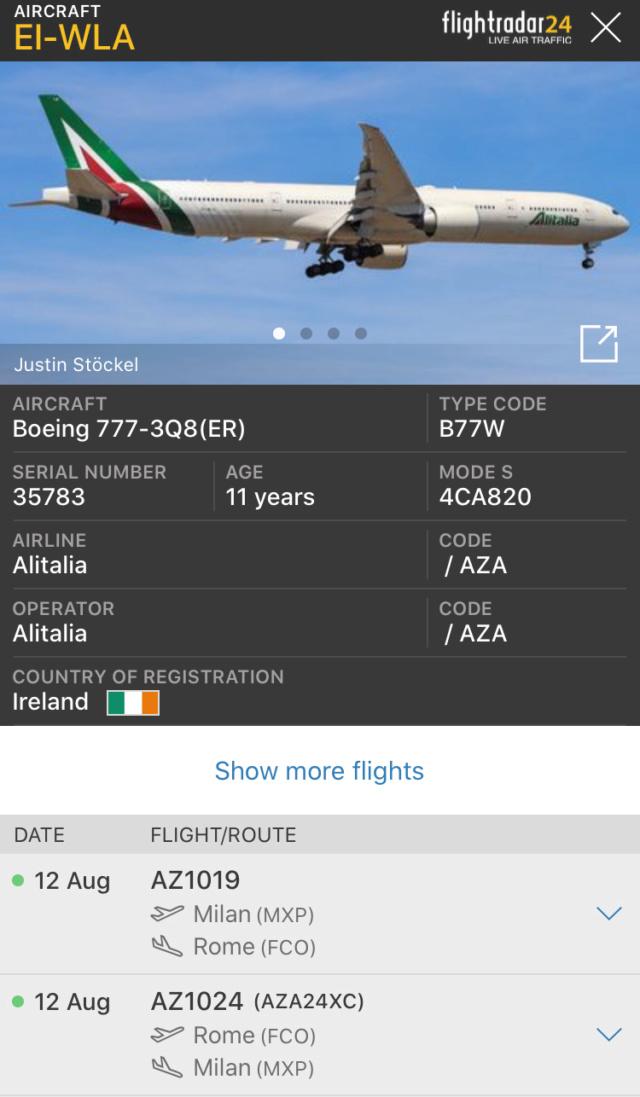 Record Alitalia a Malpensa 77518610