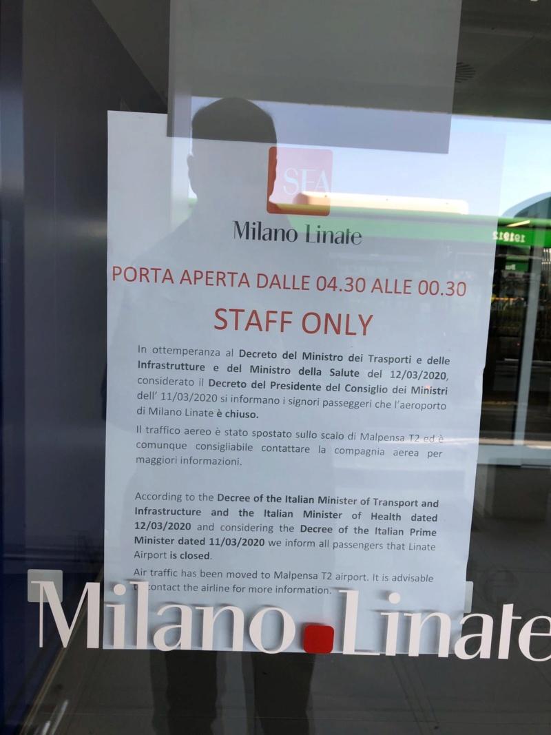 Insider Report - Linate chiuso 98882e10