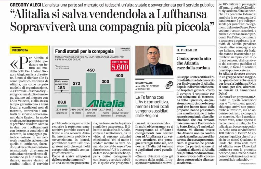 Alitalia: Atlantia molla, Lufhansa al palo.  - Pagina 3 Cd7bff10
