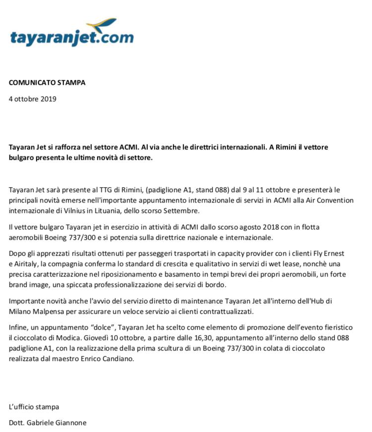 TTG/Tayaranjet Rimini 2019 D2e16d10