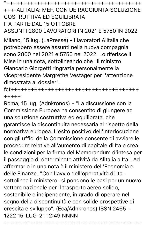 ITA verso accordo con la UE E8fe1b10