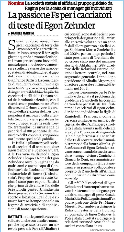 Alitalia: Atlantia molla, Lufhansa al palo.  Ilfogl10