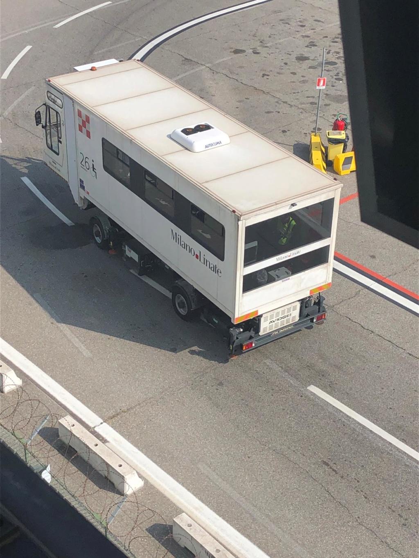 Un intruso a MXP Linate10