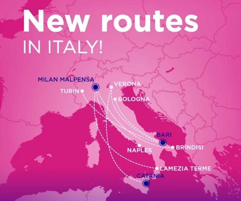 Base WizzAir a MXP: partono i voli nazionali Nuove_10