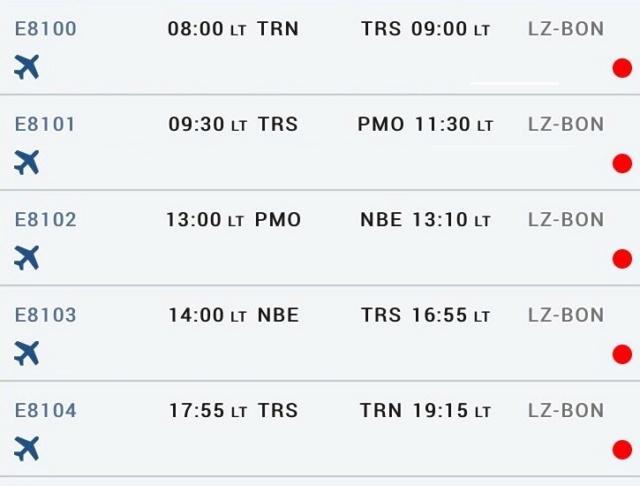 Tayaranjet al via i primi voli nazionali  Voli_c10