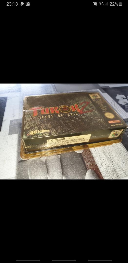 [EST] Turok 2 avec boîte rigide un peu jaunie mais boîte jeu intact Mms_2010