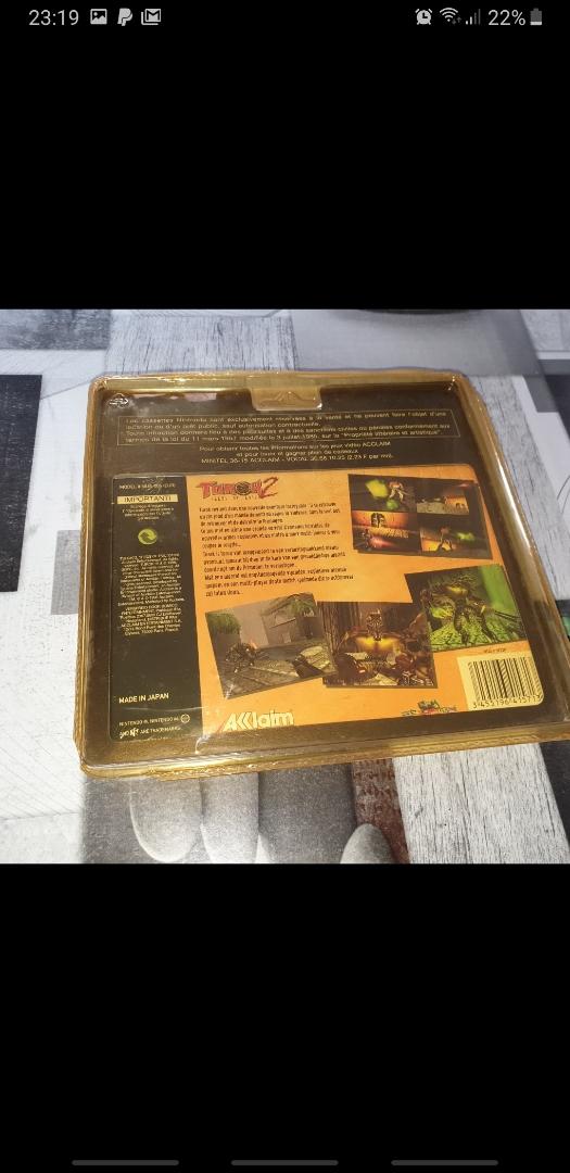[EST] Turok 2 avec boîte rigide un peu jaunie mais boîte jeu intact Mms_2011