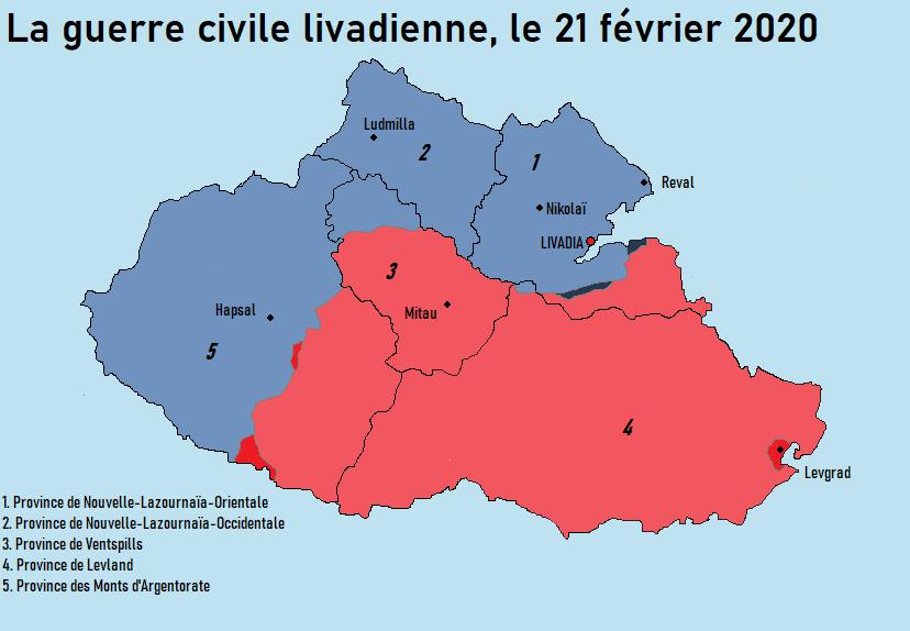 [CARTES] Situation politique et militaire de la Livadie en guerre civile 210210