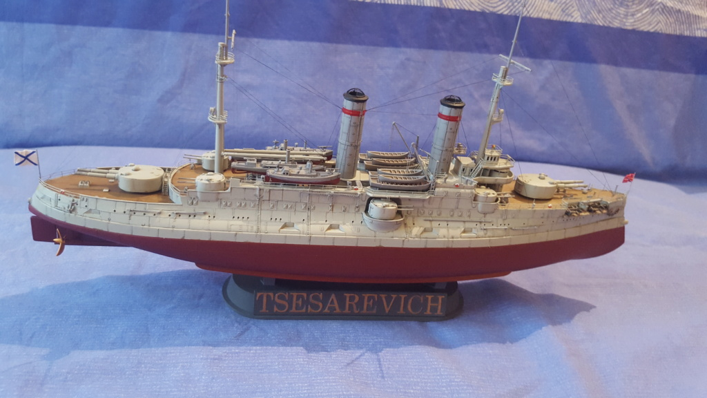 Cuirassé Tsesarevitch version 1917  1/350 trumpeter - Page 2 20190750