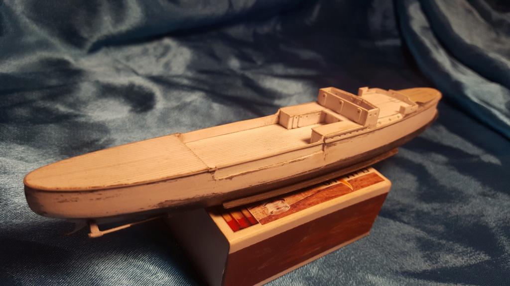 canonnière SMS Iltis 1898 scratch 1/350 20190860