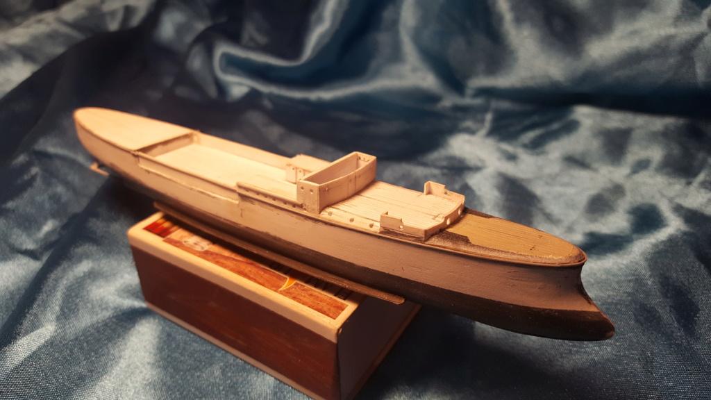 canonnière SMS Iltis 1898 scratch 1/350 20190862